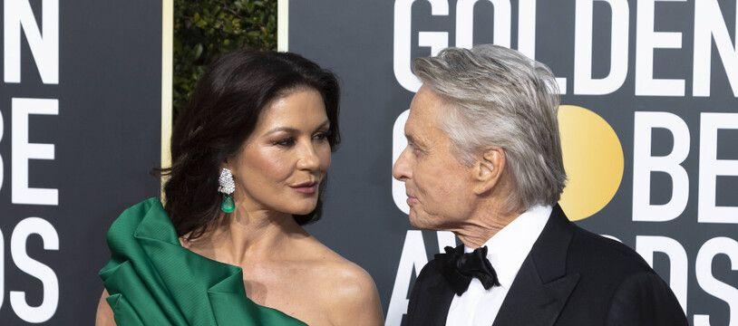 Les époux Catherine Zeta-Jones et Michael Douglas