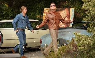 Brad Pitt et Leonardo DiCaprio dans «Once Upon a Time...in Hollywood» de Quentin Tarantino
