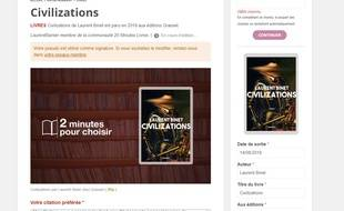Envie de partager vos coups de cœur littéraires, notre plateforme est faite pour vous...