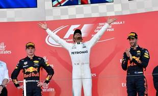 Hamilton remporte le Grand Prix du Japon.