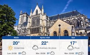 Météo Troyes: Prévisions du dimanche 20 juin 2021