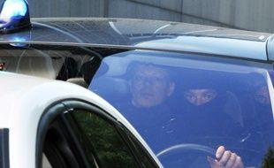 Tony Meilhon en mai 2013 lors de son transfert vers la cour d'assises de Loire-Atlantique.