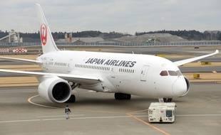 Un Boeing 787 Dreamliner de la Japan Airlines, près de Tokyo, le 15 janvier 2014