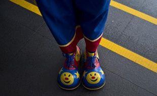 Image de clown à Kuala Lumpur. Un jeune homme a été condamné à Béthune à six mois de prison avec sursis, pour avoir menacé des passants, déguisé en clown