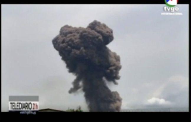 648x415 des images de la television d etat de guinee equatoriale peu apres les explosions a bata le 7 mars