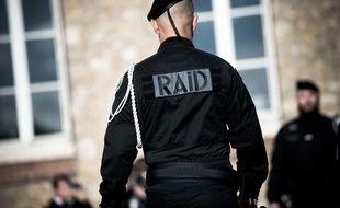 Des policiers du Raid. Illustration.