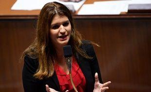 Marlène Schiappa à l'Assemblée nationale, le 6 novembre 2018.