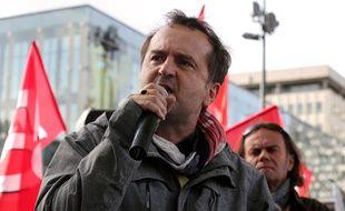 Fabrice Lerestif, secrétaire départemental du syndicat Force Ouvrière, ici le 18 octobre 2016.
