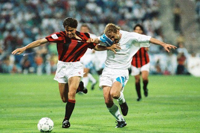L'OM n'a remporté qu'une seule de ses quatre finales européennes, en 1993.