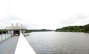 Avec ses 14 millions de mètres cubes, la réserve de la Chèze est la principale réserve en eau potable de Rennes.