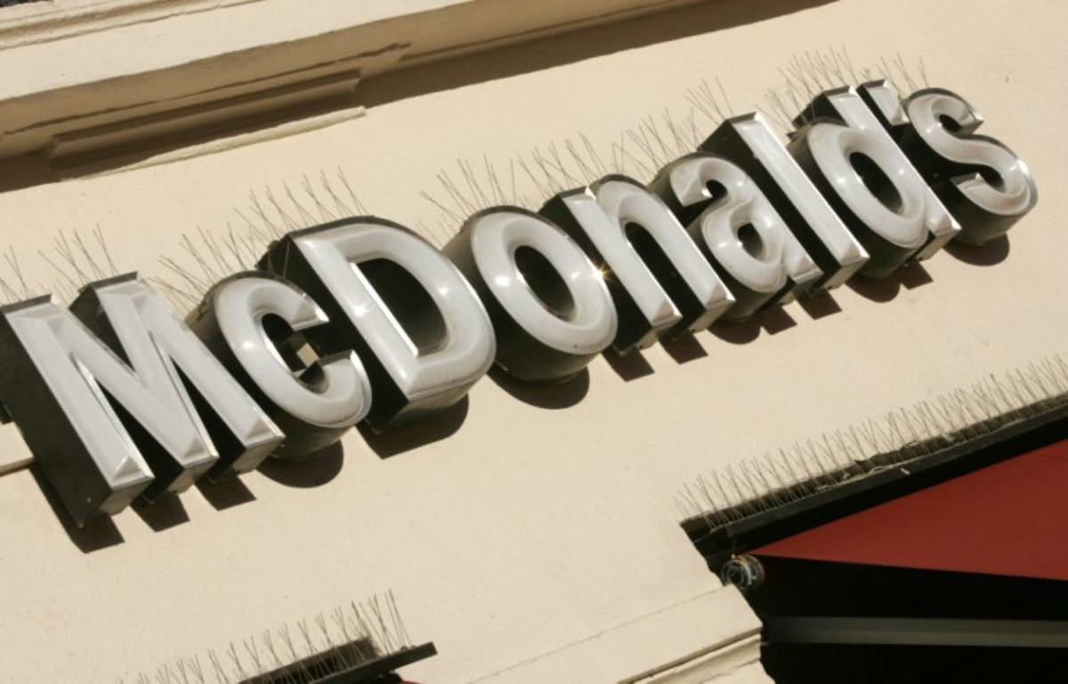 Mc Donalds. Illustration. – D. FAGET / AFP