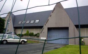 Vue de l'extérieur de la prison de Brest où le détenu était incarcéré.