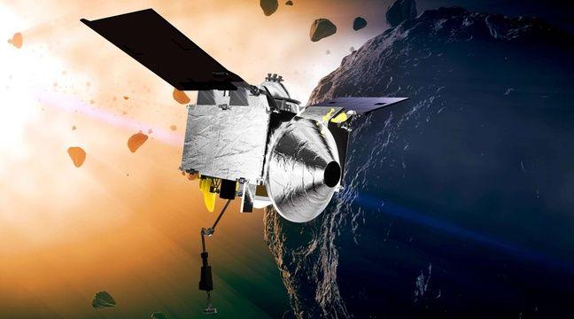 Nasa: La sonde Osiris-Rex découvre des traces d'eau sur l'astéroïde Bennu