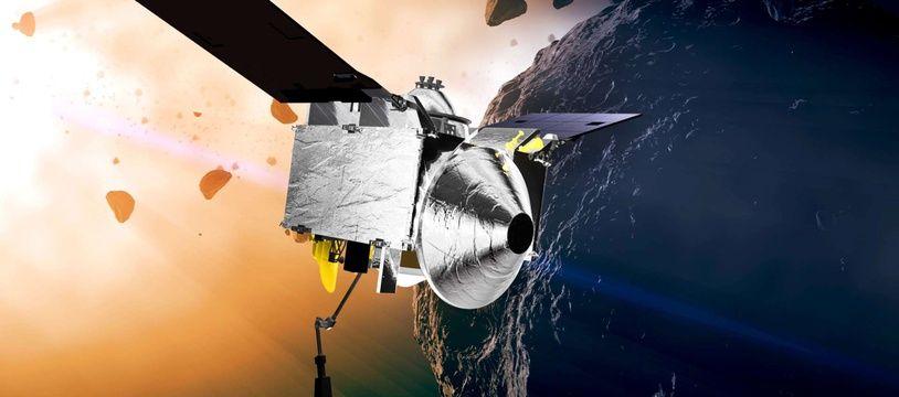 La sonde OSIRIS-REx a découvert de l'eau sur l'astéroïde Bennu (illustration).
