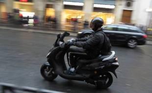 Illustration d'un scooter.