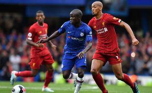 Kanté a inscrit un joli but contre Liverpool.