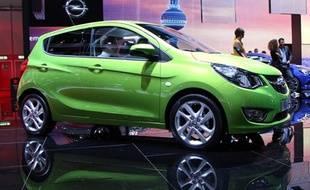 Opel Karl, la nouvelle citadine Allemande