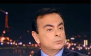 Carlos Ghosn, hier soir sur TF1.