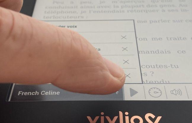 Transformer un livre numérique en livre audio s'effectue en quelques manipulations.