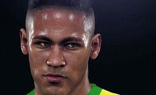 Neymar Jr, dans PES 2016.