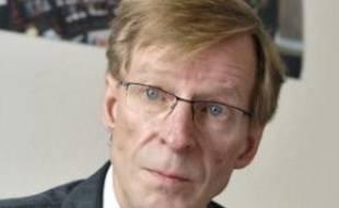 Armand Jung, député socialiste de  la première circonscription de Strasbourg.