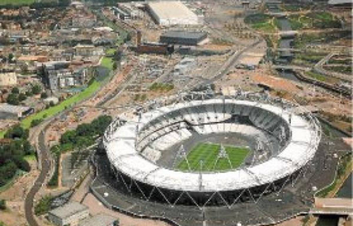 Le stade olympique de Londres accueillera la finale du 100 m, le 5 août. –  GURR BEN / THE TIMES / SIPA