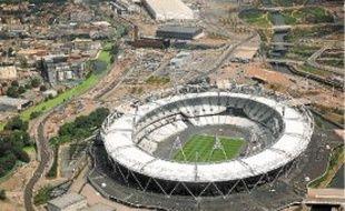 Le stade olympique de Londres accueillera la finale du 100 m, le 5 août.