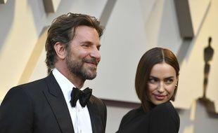 Les époux Bradley Cooper et Irina Shayk à Los Angeles.