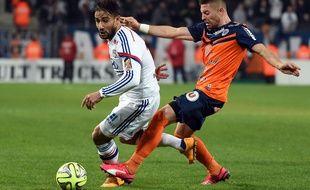 Anthony Mounier et les Montpelliérains ont été très décevants contre Lyon, dimanche.