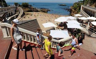 La plage du Port Vieux à Biarritza été labellisée sans tabac il y a environ deux ans.