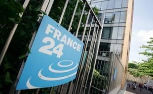 Des locaux de France 24 (illustration)