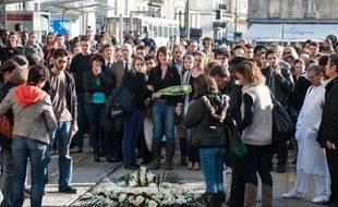 Un hommage a été rendu à la jeune femme décédée dans un choc avec le tramway à Bordeaux