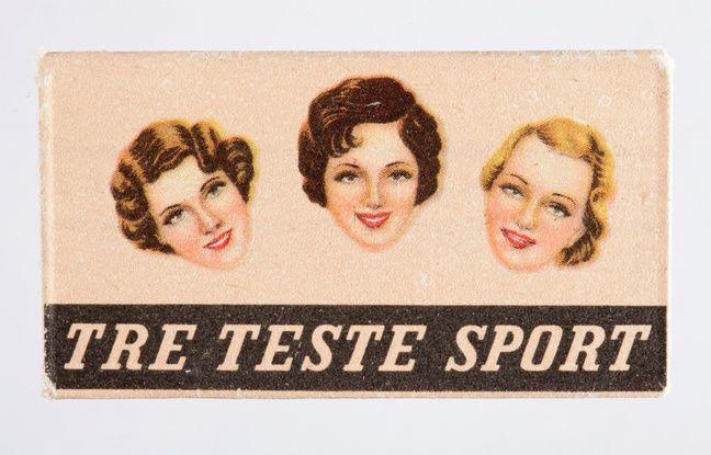 Un emballage de rasoirs illustré issu des collections du Musée de l'Affiche de Toulouse.