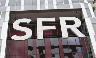 Le siège de SFR à Saint-Denis.