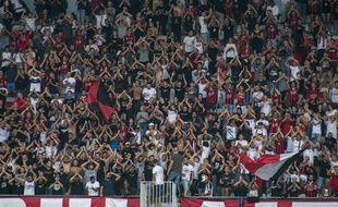 Des supporters de l'OGC Nice (illustration).