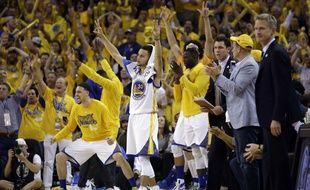 Golden State a battu OKC lors du match 5 de la finale de la Conférence Ouest de NBA pour revenir à 3-2, le 26 mai 2016.