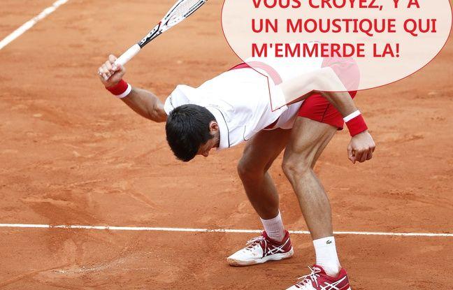 Roland-Garros: «Évacuer les mauvaises ondes»...Casser sa raquette peut avoir du bon (mais pas toujours)