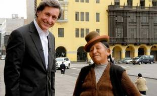 """""""Le Grand Tour"""", émission de Patrick de Carolis au Pérou."""