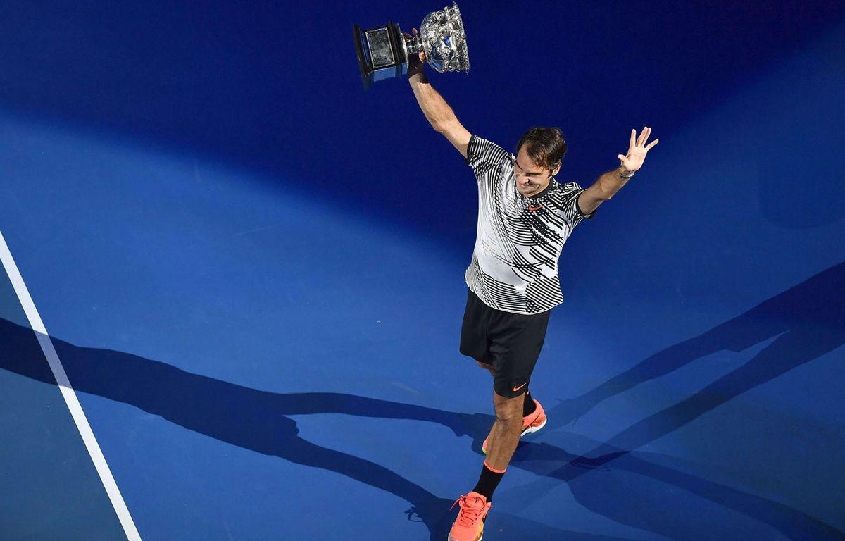Roger Federer remporte l'Open d'Australie – SIPA