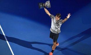 Roger Federer remporte l'Open d'Australie