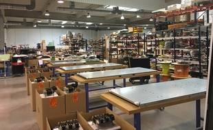 L'atelier de Bio-UV, l'entreprise basée à Lunel, dans l'Hérault.