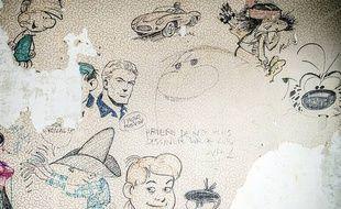 Des croquis originaux de Franquin, Peyo et Roba, découverts à Bruxelles