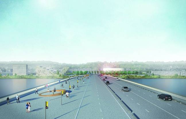 Les travaux pour la construction du nouveau franchissement de la Garonne débuteront au premier trimestre 2017.