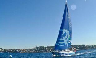 Marseille: Un voilier pour mesurer la pollution au large des côtes.