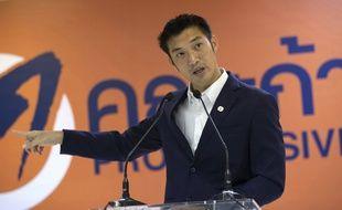 Thanathorn Juangroongruangkit, fondateur du parti dissous Future Forward
