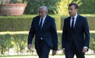 Gérard Collomb a été nommé ministre de l'Intérieur par Emmanuel Macron en mai 2017.