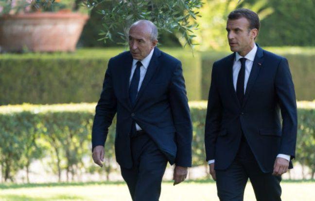 Grand débat national: Gérard Collomb estime qu'Emmanuel Macron «fait ce qu'il faut» mais lui conseille de «parler à la population»