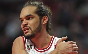 Le pivot des Chicago Bulls Joakim Noah, le 15 janvier 2016.
