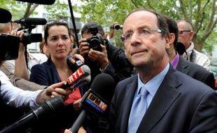 François Hollande le 20 juillet 2011 à Paris.