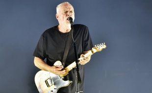 Le rockeur de Pink Floyd, David Gilmour